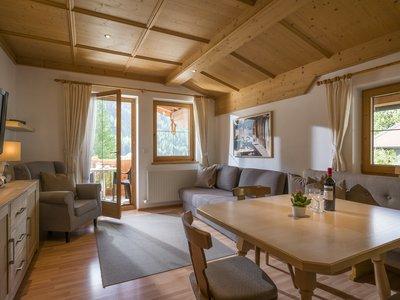 Wohnbereich App. Typ 2 - Landhaus Casper ©Kalle's Appartements