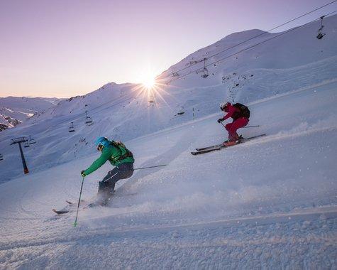 Skiing ©Johannes Sautner (Zillertal Arena)