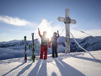 Sonnenaufgang Skifahren ©Johannes Sautner (Zillertal Arena)