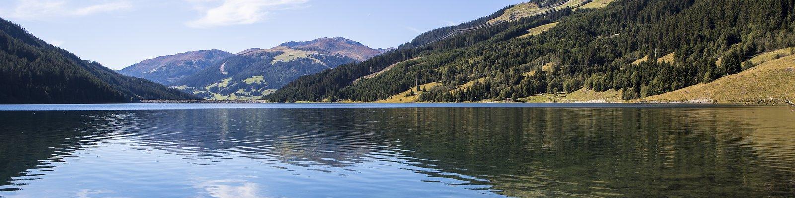 View of the Durlassboden reservoir ©Johannes Sautner (Zillertal Arena)