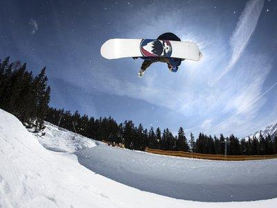 Halfpipe Snowpark ©Johannes Sautner (Zillertal Arena)