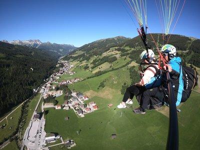 Höhenflug über Gerlos ©Kalle Air