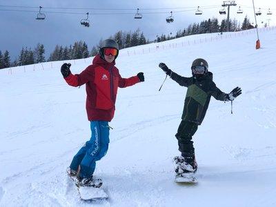 Snowboard Action ©Kalle Air